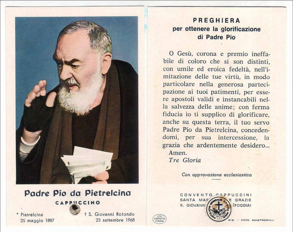 Padre Pio Bio A Picture Tour Through Life Of The Lenten