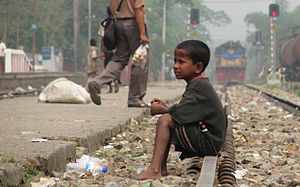 Street_child_srimangal_railway