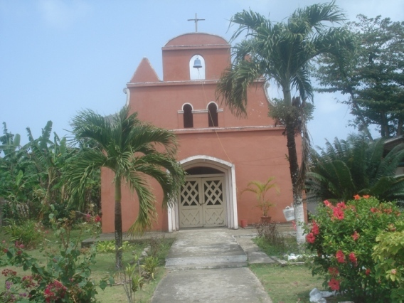 Church-capurgana-colombia