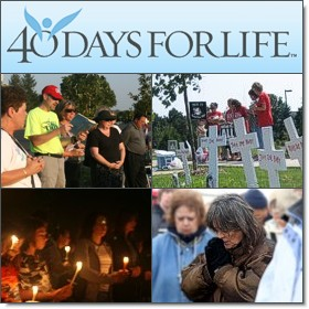 From 40 Days for Life: SAVE THE DATE: Tuesday, July 17