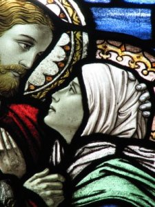 Jesus with His Mother