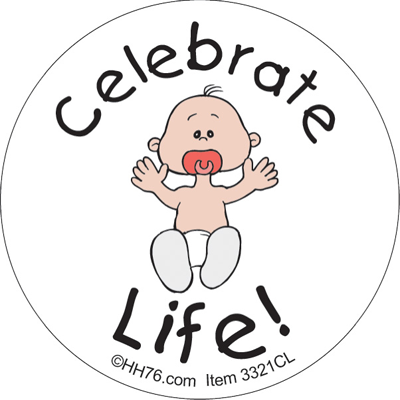 celebratelifepin